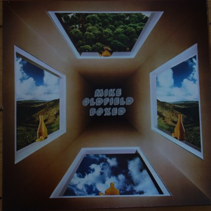 Virgin VBOX Mike Oldfield Boxed Stereo / Quadraphonic 4 LP box set