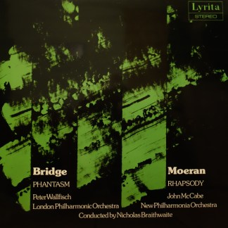 SRCS 91 Frank Bridge Phantasm / E.J. Moeran Rhapsody in F Sharp / Wallfisch / McCabe / Braithwaite