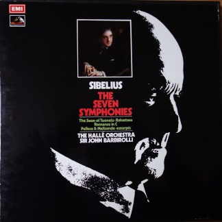 SLS 799 The Seven Symphonies / Barbirolli / Halle Orchestra 5 LP box
