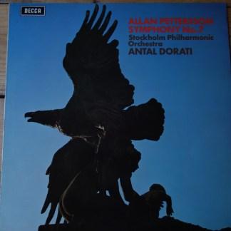 SXL 6538 Allan Pettersson Symphony No. 7 / Dorati / Stockholm Philharmonic Orchestra