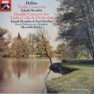 ASD 3343 Delius Violin Concerto / Double Concerto / Menuhin / Tortelier / Davies RPO