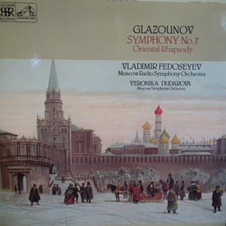 ASD 3504 Glazounov Symphony No. 7, Oriental Rhapsody / Fedoseyev MRSO / Dudarova MSO