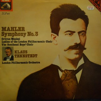 SLS 5195 Mahler Symphony No. 3 / Tennstedt / LPO 2 LP set