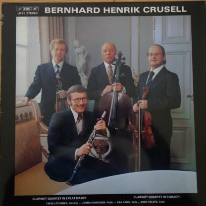 BIS LP-51 Crusell Clarinet Quartets