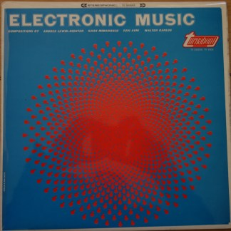 TV 4004 Electronic Music Lewin-Richter, Mimaroglu, Avni, Carlos