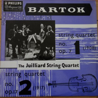 ABL 3064 Bartok String QuartetNo. 1 & No. 2 / Juilliard String Quartet
