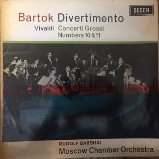 SXL 6026 Bartok Divertimento / Vivaldi Concerti Grossi / Barshai W/B