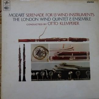 AX 5259 Mozart Serenade For 13 Wind Instruments / Klemperer E/R
