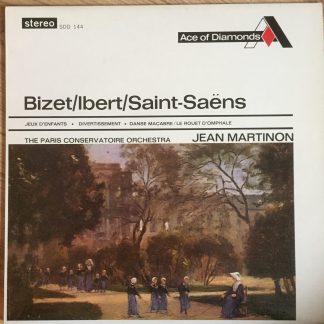 SDD 144 Bizet Jeux / Ibert Divertissement / Saint-Saens