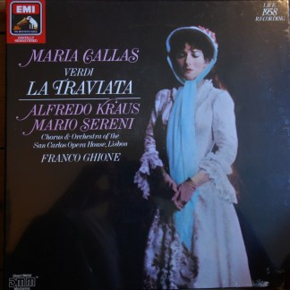 EX 29 13153 Verdi La Traviata / Callas / Ghione SEALED 2 LP box