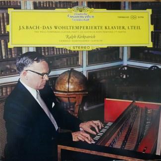 138 844/45 Bach Das Wohltemperierte Klavier Book 1 / Kirkpatrick