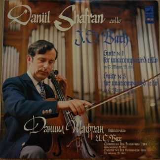 CM 01935-36 Bach Cello Suites 1 & 3 / Daniel Shafran