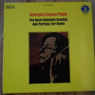OL 8117/3 Bach Sonatas & Partitas Georges Enesco