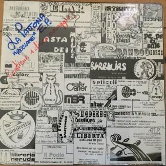 LA PATTONA reclame ITALIAN NEW WAVE SEALED LP
