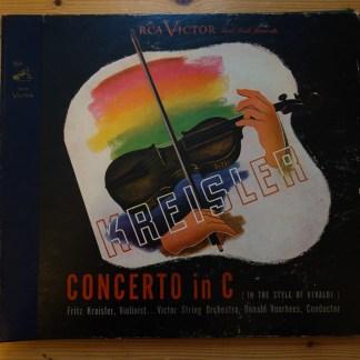 DM 1070 Kresler Concerto in C / Kreisler / Voorhees