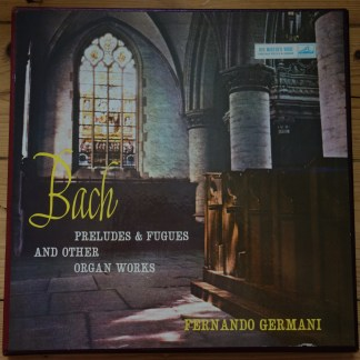 CLP 1305-07 Bach Preludes & Fugues & Other Organ Works / Germani