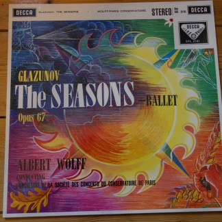 SXL 2141 Glazunov The Seasons Ballet / Wolf