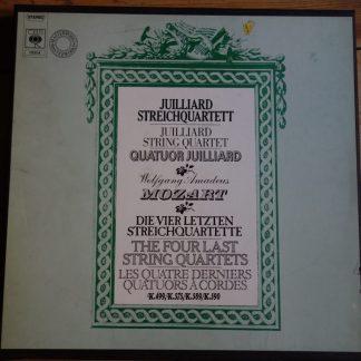 CBS 79204 Mozart Four Last String Quartets / Juilliard
