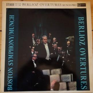 SB 2125 Berlioz Overtures / Munch / BSO R/S