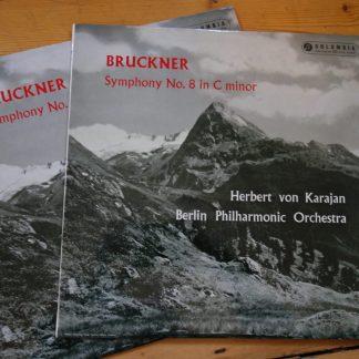 33CX 1586/87 Bruckner Symphony No. 8 / Karajan