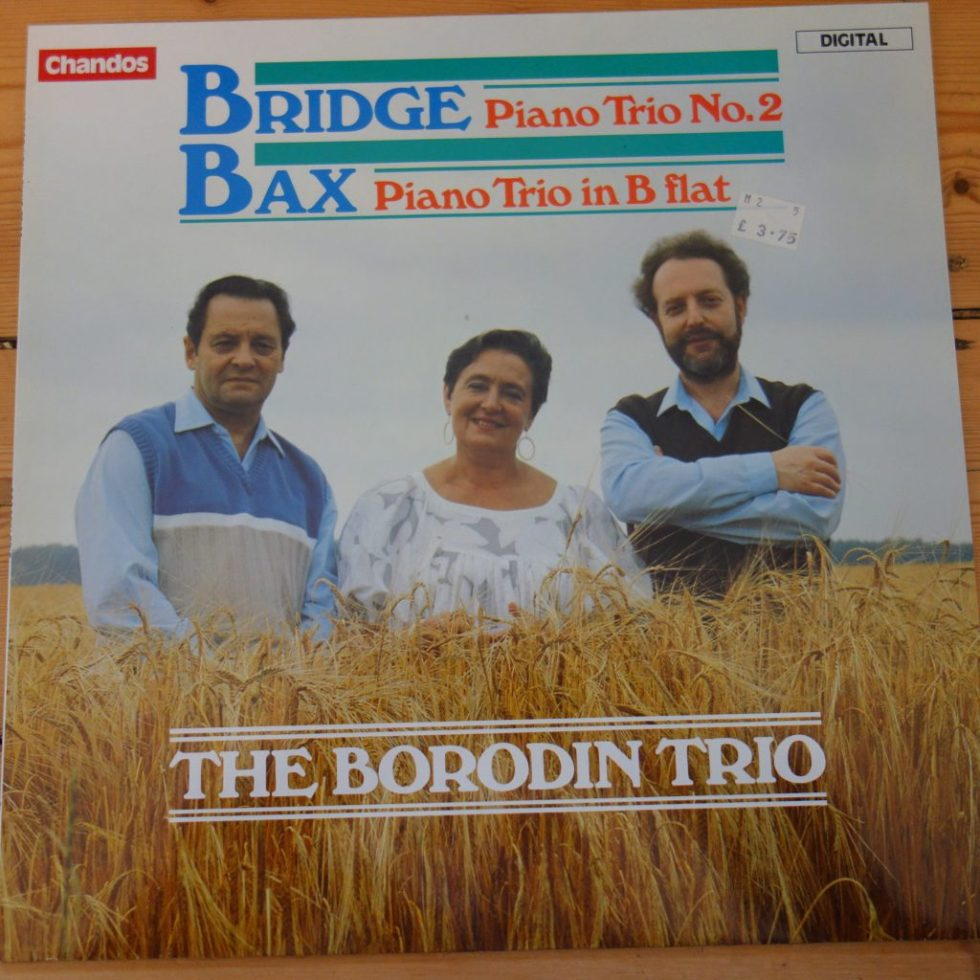 ABRD 1205 Bridge / Bax Piano Trios / The Borodin Trio