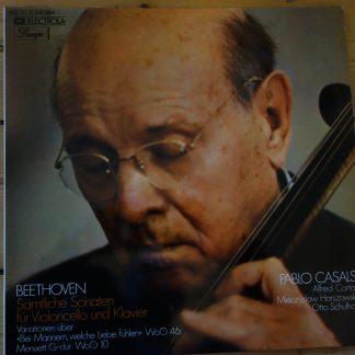 1C147-01 538/39M Beethoven Cello Sonatas / Pablo Casals,