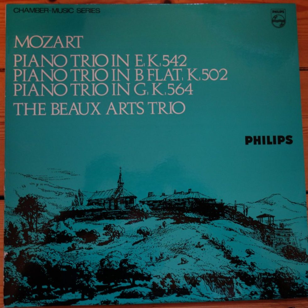 SAL 3681 Mozart Piano Trios K.542, 502 & 564 / Beaux Arts Trio
