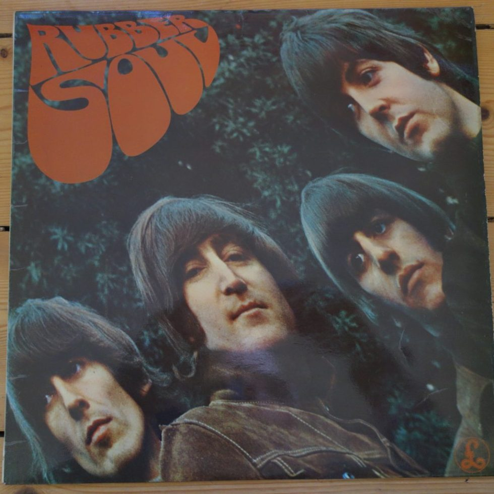 PCS 3075 The Beatles Rubber Soul one box label