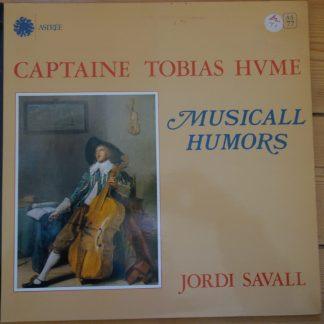 Astree AS 77 Captian Tobias Hvme Musical Humors / Jordi Savall