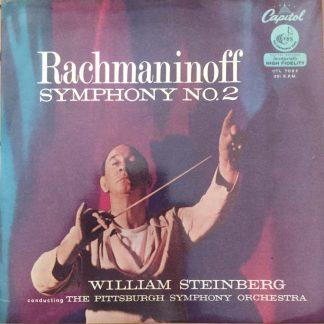 CTL 7085 Rachmaninov Symphony No. 2 / Steinberg / Pittsburgh Symphony Orchestra