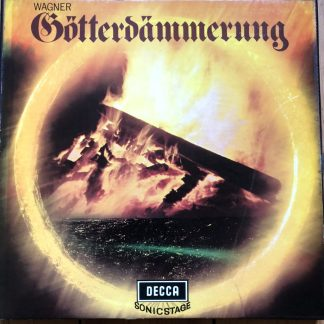 SET 292/7 Wagner Gotterdammerung / Solti / VPO 6 LP box set