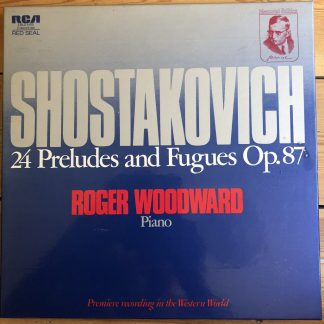 LRL2 5100 Shostakovich 24 Preludes and Fugues Roger Woodward