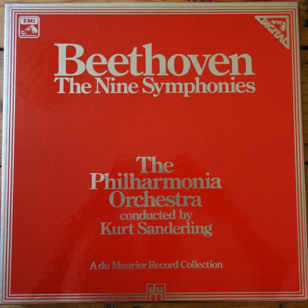 SLS 5239 Beethoven The Nine Symphonies / Sanderling / Philharmonia Orchestra