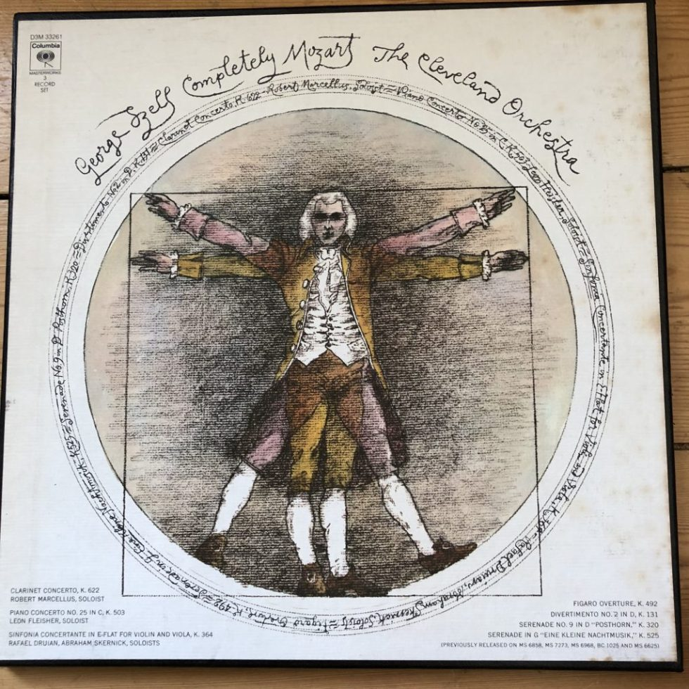 D3M 33261 Completely Mozart / Szell / Cleveland Orch