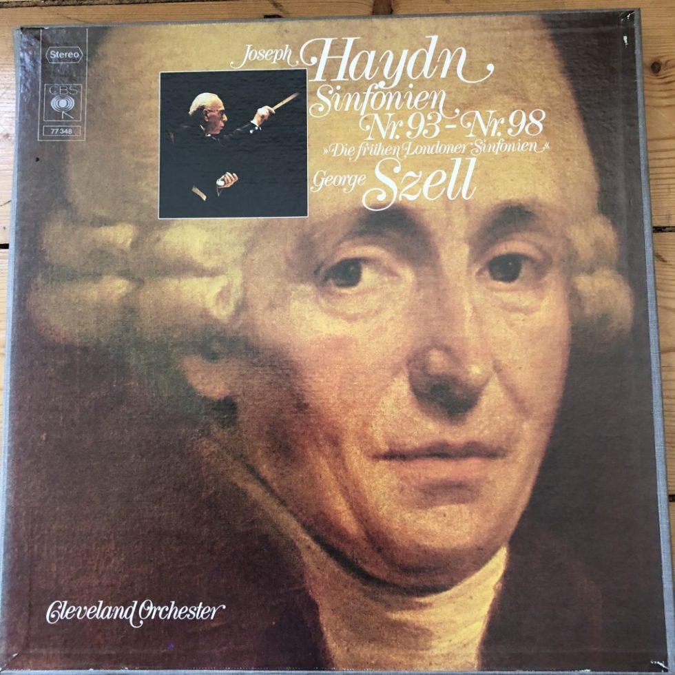 CBS 77348 Haydn Symphonies 93-108 / Szell