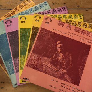 GME 1006-11 Mozart Complete Violin Sonatas / Julian Olevsky
