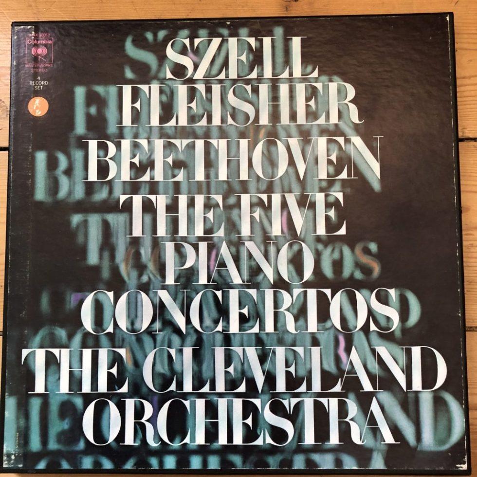 M4X 30052 Beethoven Piano Concertos / Fleischer / Szell