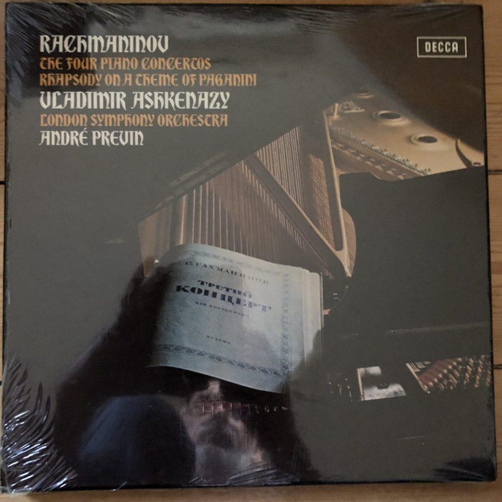SXLF 6665-7 Rachmaninov Piano Concs. / Ashkenazy 3 LP