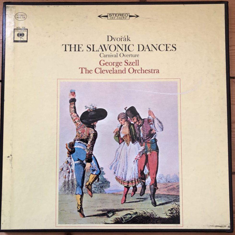 M2S 726 Dvorak Slavonic Dances, etc. / Szell / Cleveland Orch
