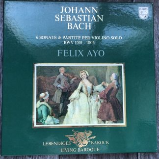 6770 950 Bach Sonatas & Partitas / Felix Ayo 2 LP box set