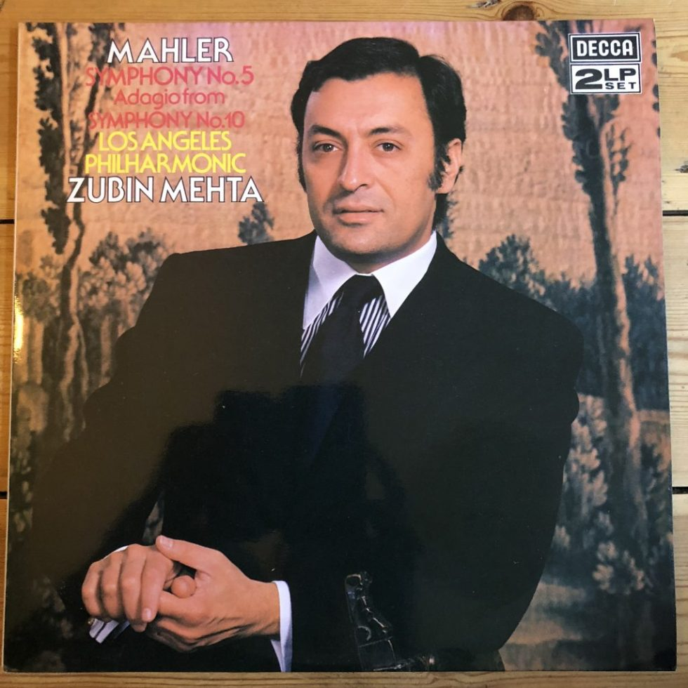 SXL 6806-7 Mahler Symphony No. 5 / Mehta / LA Phil 2 LP set