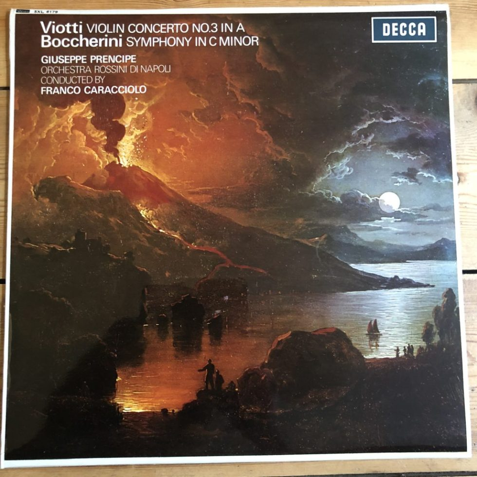 SXL 6179 Viotti Violin Concerto No. 3 / Boccherini Symphony