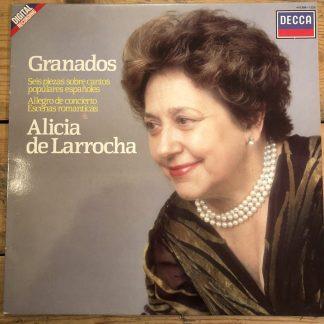 410 288-1 Granados Seis Piezas / Allegro da Concierto etc.