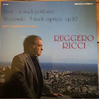 DS 4028 Ernst 6 Studies / Wieniawski 9 Studi-Capricci / Ruggiero Ricci