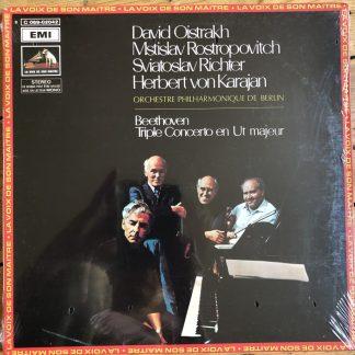 2C 069-02042 Beethoven Triple Concerto / Oistrakh / Rostropovich / Richter