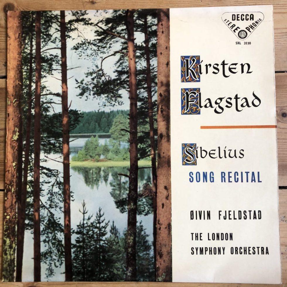 SXL 2030 Sibelius Song Recital / Flagstad W/B