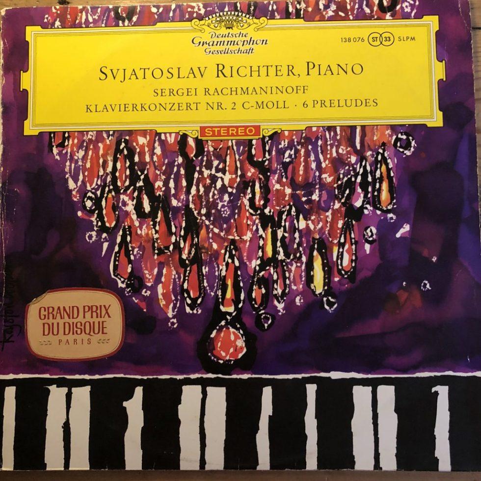 138 076 Rachmaninov Piano Concerto No. 2 / 6 Preludes / Richter