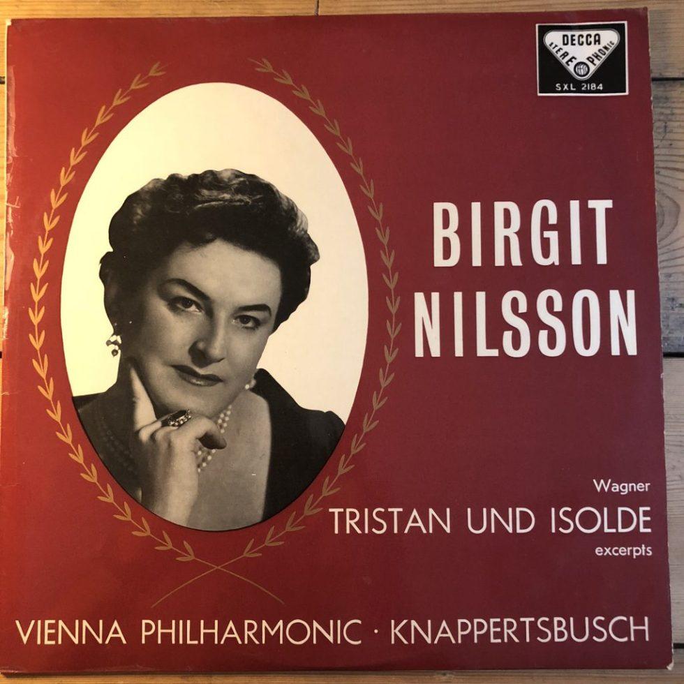 SXL 2184 Wagner Tristan & Isolde (excertps) / Nilsson etc. Knappertsbusch / VPO W/B