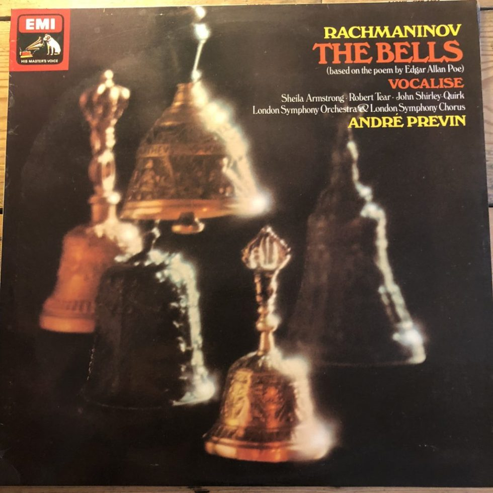 ASD 3284 Rachmaninov The Bells / Previn / LSO HP List