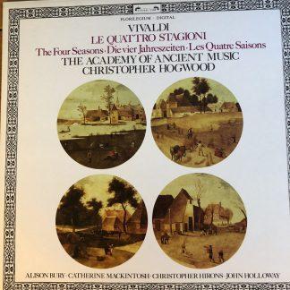 410 126-1 Vivaldi Four Seasons / Hogwood / AAM